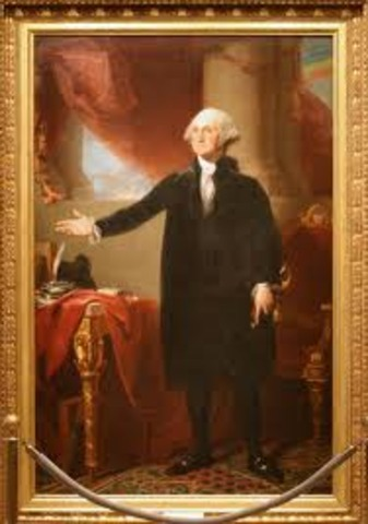 George Washington was elected to be the first President!