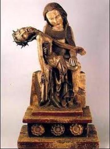Virgin with the Dead Christ (Rottgen Pieta)