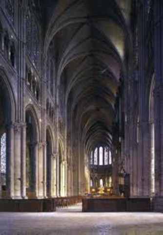 Chartes Cathedral (Nave)