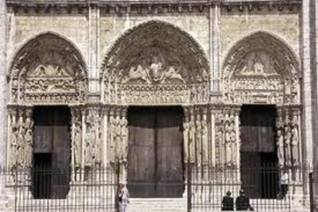 Royal Portal at Chartres