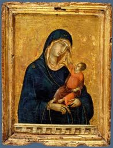 Madonna and Child, Duccio