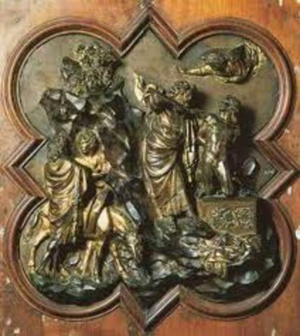 Ghiberti, Sacrifice of Isaac