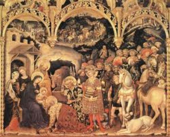 Gentile da Fabriano, Adoration of the Magi