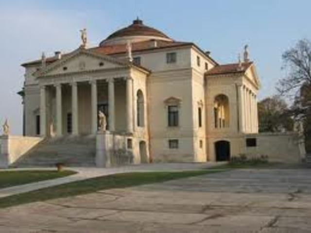 Palladio, Villa Rotunda, Vicenza (Venice)