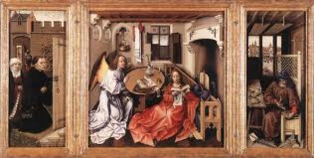Robert Campin, Merode Altarpiece