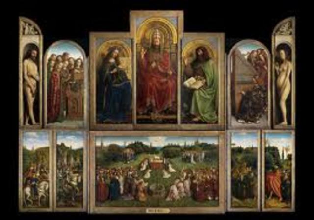 Jan and Hubert Van Eyck, Ghent Altarpiece