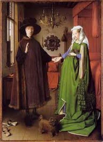 Jan van Eyck, Arnolfini Portrait