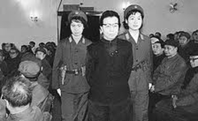 Arrest of Jiang QIng and New Chairman