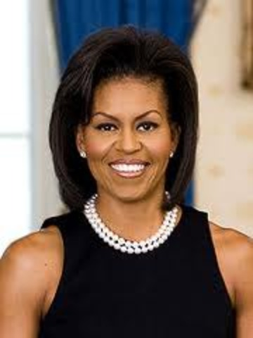 first lady spoke in pettersburg VA
