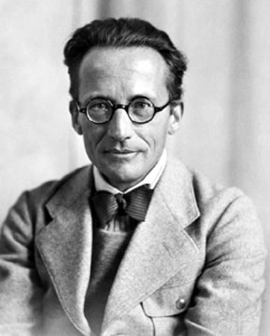 Erwin Schrödinger's Atomic Theory
