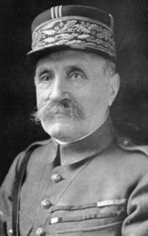 Marshall Foch was appointed Allied Commander on the Western Front