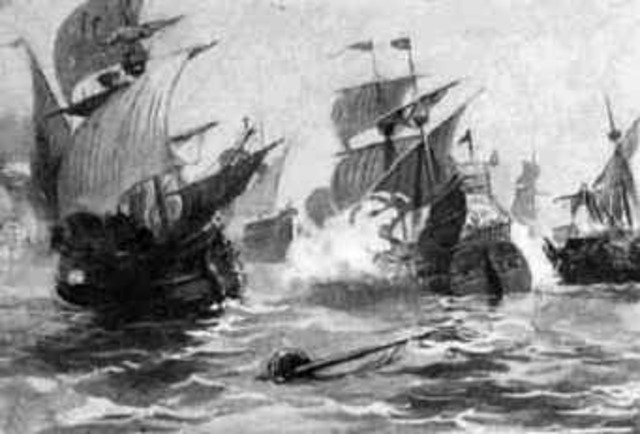 The Spanish Armada was destroyed.