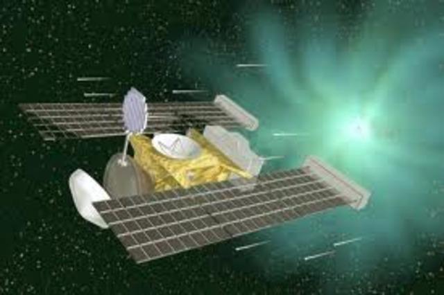 Stardust flies Successfully Past Comet wild 2