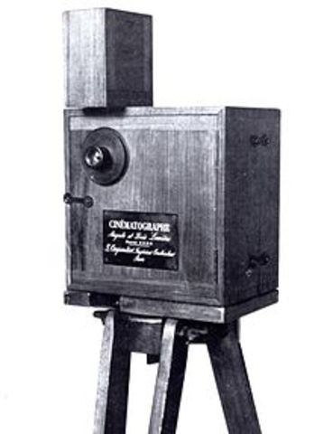 First Public Showing of Cinematograph