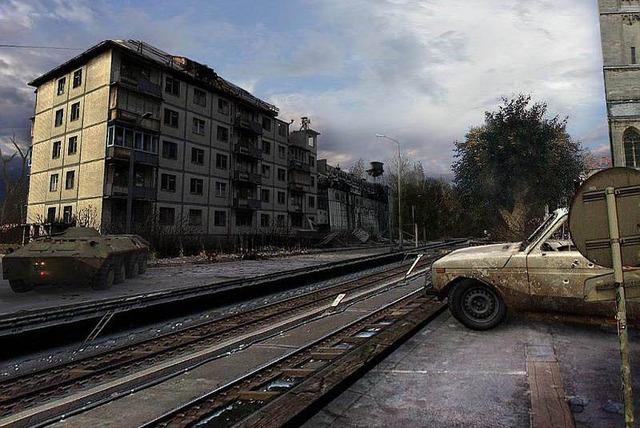 Afueras de Chernobyl