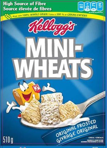 Ate a whole box of Mini Wheats