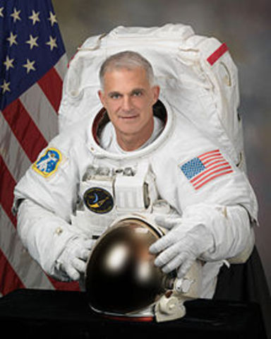 David Wolf - first American to vote from space