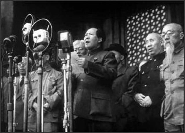 Communist Taking Over China