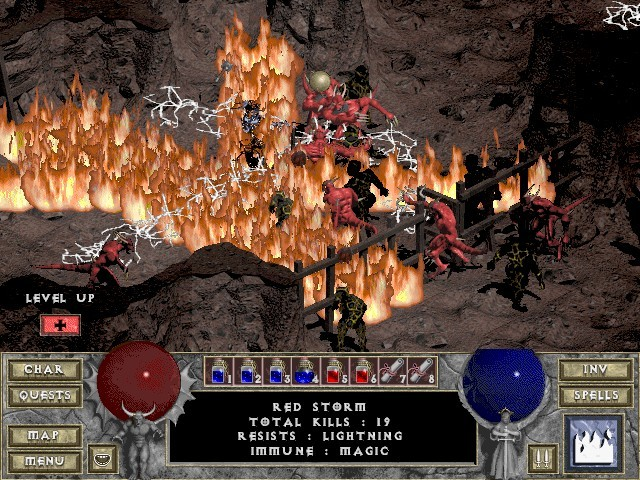 Diablo - Point & Click Action RPG