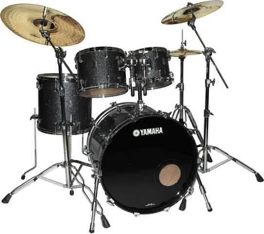 Started playing drums