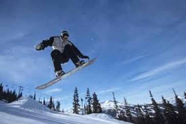 i get into snowboarding