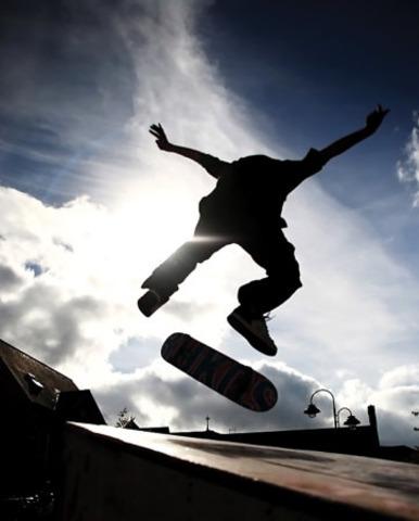 i start skateboarding