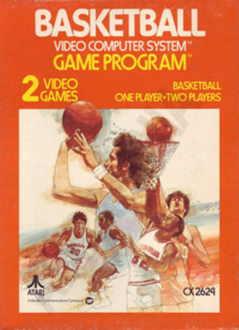 Atari Basketball - Jumping