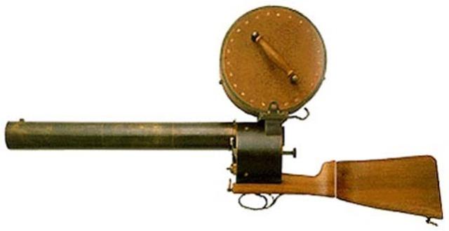Fusil Photograph of Marey