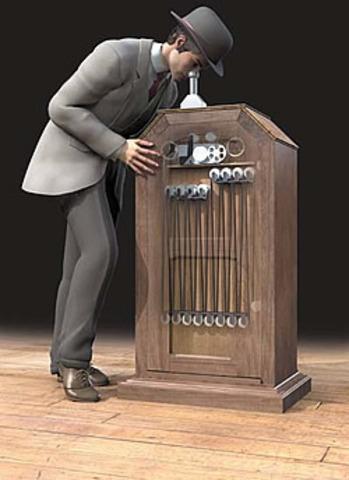 Thomas Edison's Kinetoscope