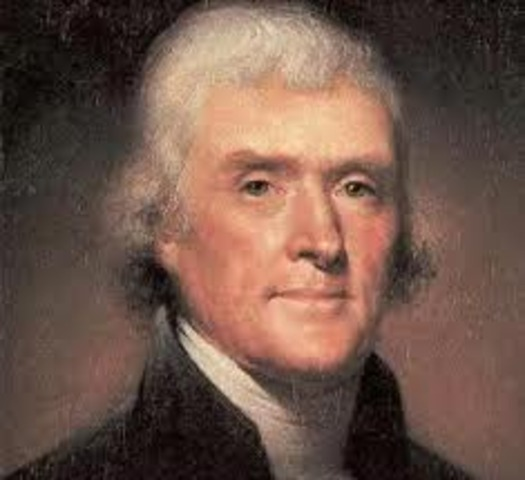 Thomas Jefferson uses Locke's ideas to use in the Declaration of Independence