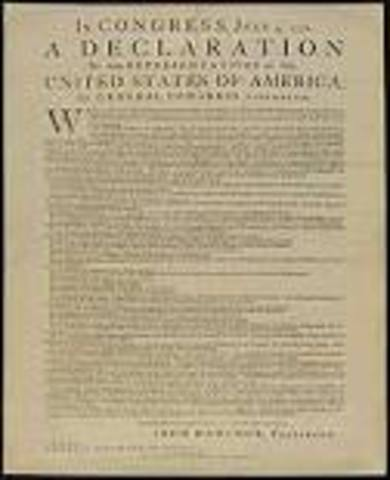 Declaration of Tndependence