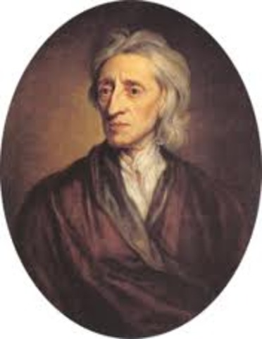 Locke's begins to write and promote the idea ofa Social Contract, he may not be the first withthe idea but his social status will make the ideapopular