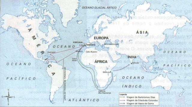 Dias' Voyage into the Indian Ocean