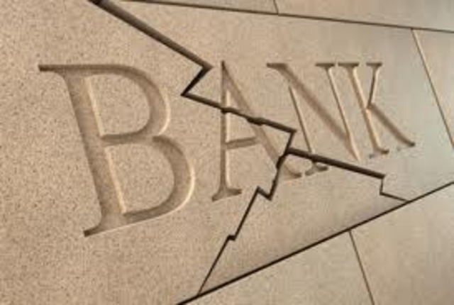 Banks are failing