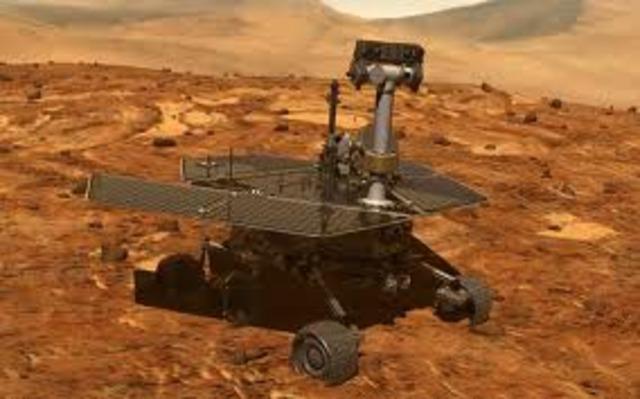 O robô Opportunity da NASA