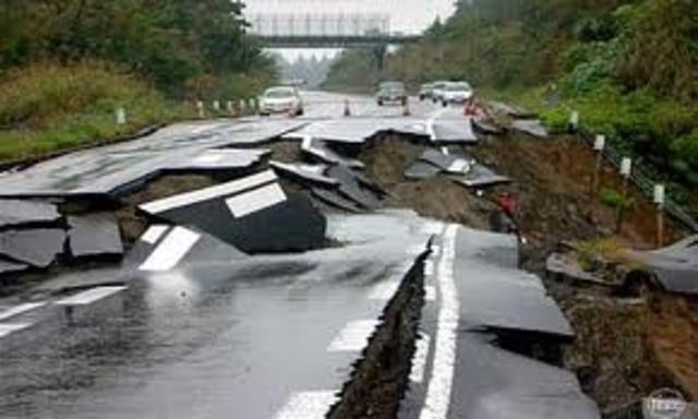 terremoto na escala Richter