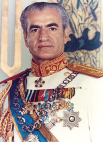 The Shah gets power