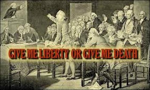 Give Me Liberty speech