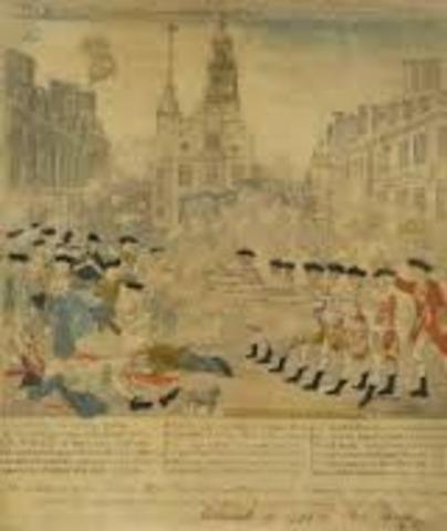 Boston Massacre 1770-