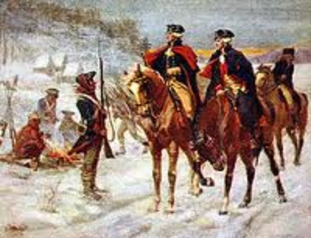 Winter at Valley Forge 1777-1778-