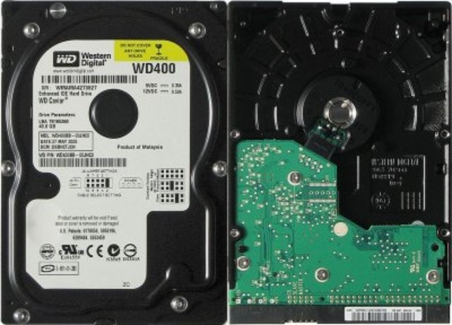 First Harddrive