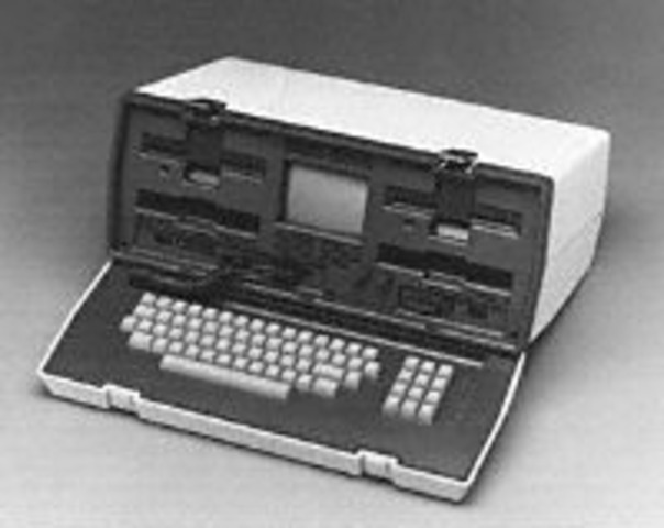 Adam Osborne completed the first portable computer