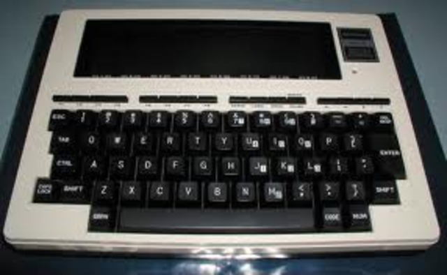 The TRS-80 Model 100 is Introduced
