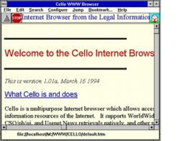 The Mosiac Web Browser is Released