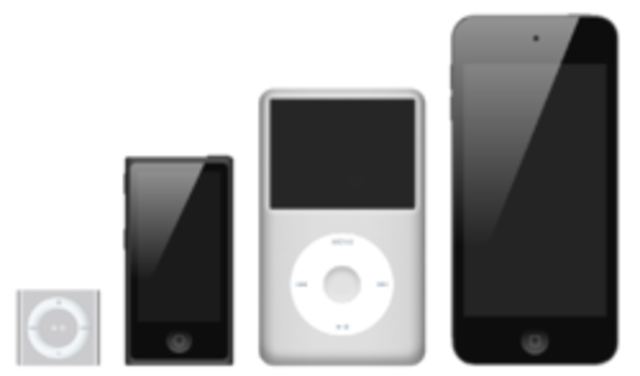 First iPod Line Created