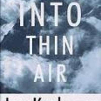 Into thin air, John Krakauer, Non-fiction 368 pages. timeline