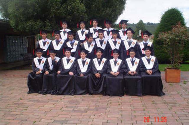 Mi graduacion del Colegio