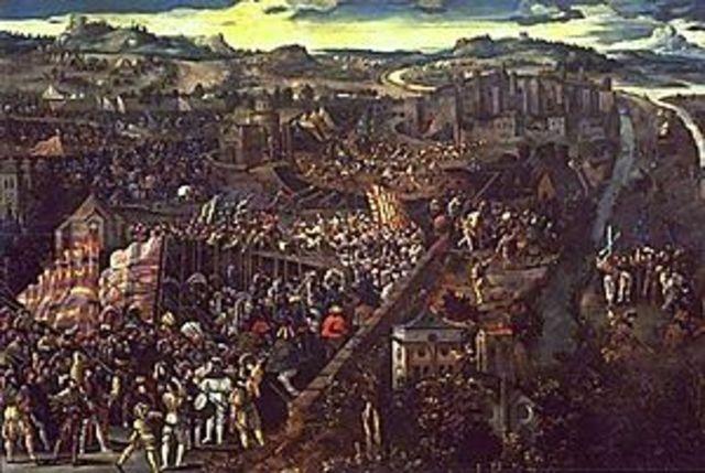 Début des Guerres D'Italie