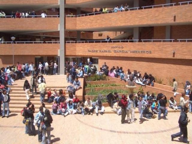 El dia que entre a la Universidad
