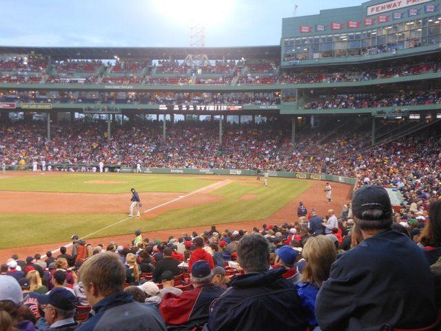Mi primer juego de Red Sox